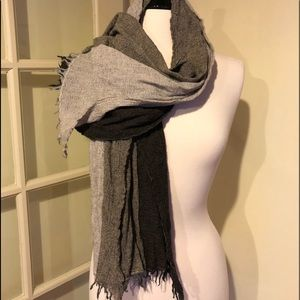 Accessories - Lightweight triple scarf / Khaki, Brown, Black
